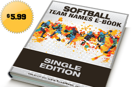 Cool Fastpitch Softball Team Names