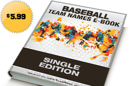 Little League Baseball Team Names